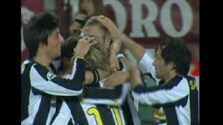Il goal di Chiellini contro il Toro visto da una telecamera inedita