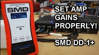 How To Set Amplifier Gains The Right Way The New SMD DD