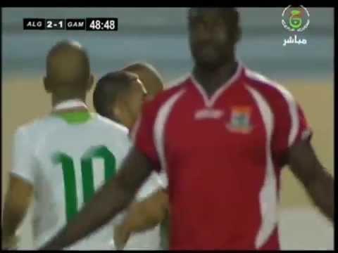 tous les buts de islam slimani avec l'equipe national