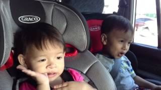 """Cute 4-year-old Boy Sings Frozen's """"Let It Go"""" With Baby"""