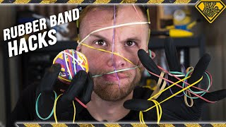Viral Rubber Band Life Hacks TESTED