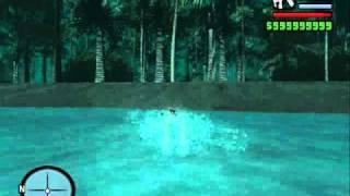 Isla Secreta GTA San Andreas NO MOD (triangulo De Las