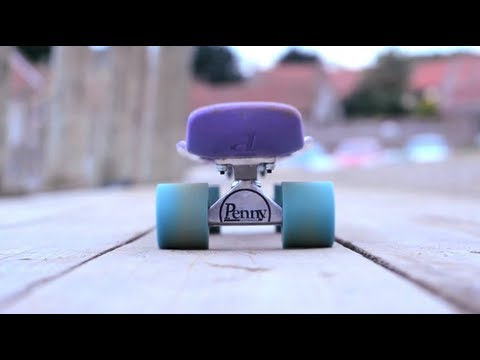 Longboarding: Purple & Blue