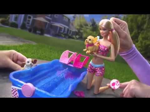 Đồ chơi búp bê Barbie hồ bơi (B186)