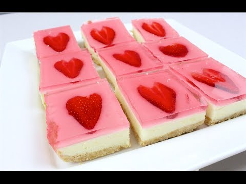 Gummy Cheesecake Hearts