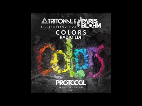 Tritonal & Paris Blohm ft. Sterling Fox - Colors (Radio Edit)