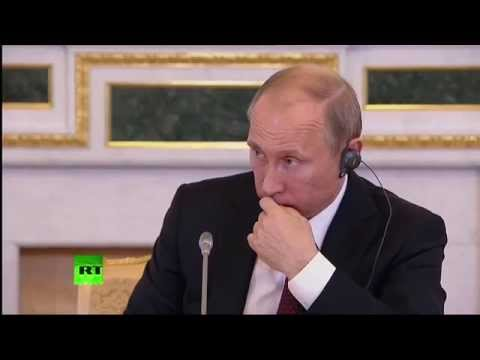 Putin: We object to certain countries twisting intl law to justify actions (Q&A session part 2)
