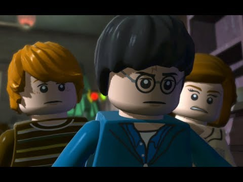 LEGO Harry Potter Years 5-7 Walkthrough Part 4 - Year 5 - 'Kreacher Discomforts'
