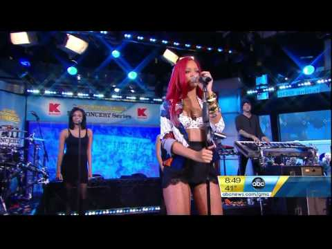 Rihanna - Only Girl (In The World) & What's My Name - Good Morning America