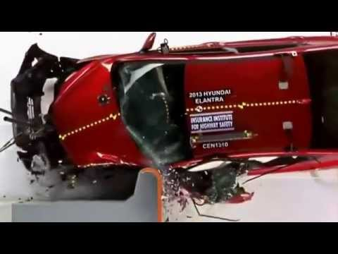 Car Crash Test  Honda Civic 2014
