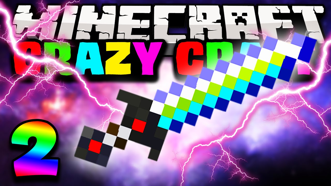 Minecraft: CRAZY CRAFT 2.0 Modded Survival - Ep.2 - THE ULTIMATE SWORD ...