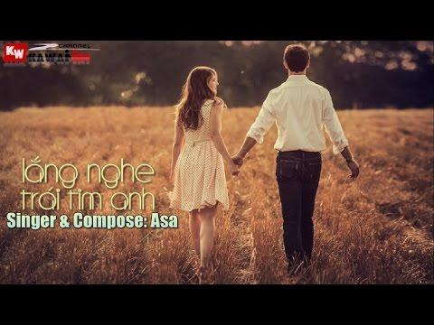 Lắng Nghe Trái Tim Anh - Asa [ Video Lyrics Karaoke ]