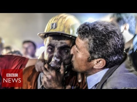 Desperate search at Turkey mine after explosion - BBC News