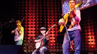 Ted Talks: Teenaged Boy Wonders Play Bluegrass