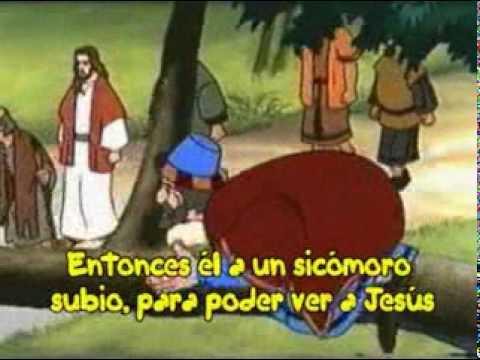 Zaqueo - Música Cristiana en Karaoke para niños