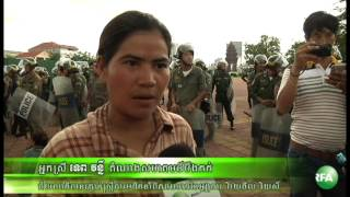Land activists want to meet with Hun Sen