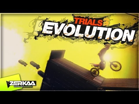 "Trials Evolution | ""ALIEN SPACESHIP"" 
