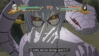 Sage Mode Kabuto Vs Orochimaru Gameplay Naruto Shippuden