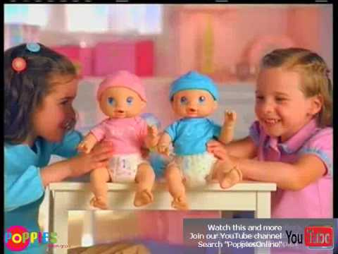 Available At Poppies Baby Alive Wet N Wiggles Doll