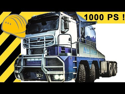 Tractomas - 1.000 HP Extreme Trucking - Biggest Prime Mover Truck in the World by Nicolas