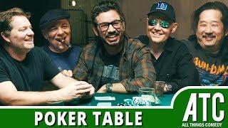 The Poker Table w/ Bill Burr, Al Madrigal, Jay Larson, Bobby Lee & Eddie Pepitone