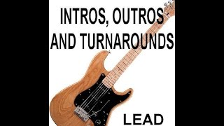 Classic Country Lead Guitar Intros, Outros & Turnarounds