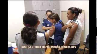 Meninas de 11 a 13 anos devem receber segunda dose da vacina contra o HPV a partir de hoje