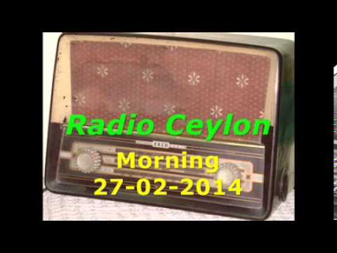 Radio Ceylon 27-02-2014~Thursday Morning~03 Purani Filmon Ka Sangeet