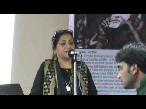 Jijnasa - Madhu Kishwar - Modi, Muslims and Media - 25 Aug 2013