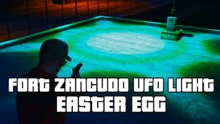 GTA V: Fort Zancudo UFO Light Easter Egg