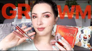 GRWM using SUVA Beauty Saffron Collection