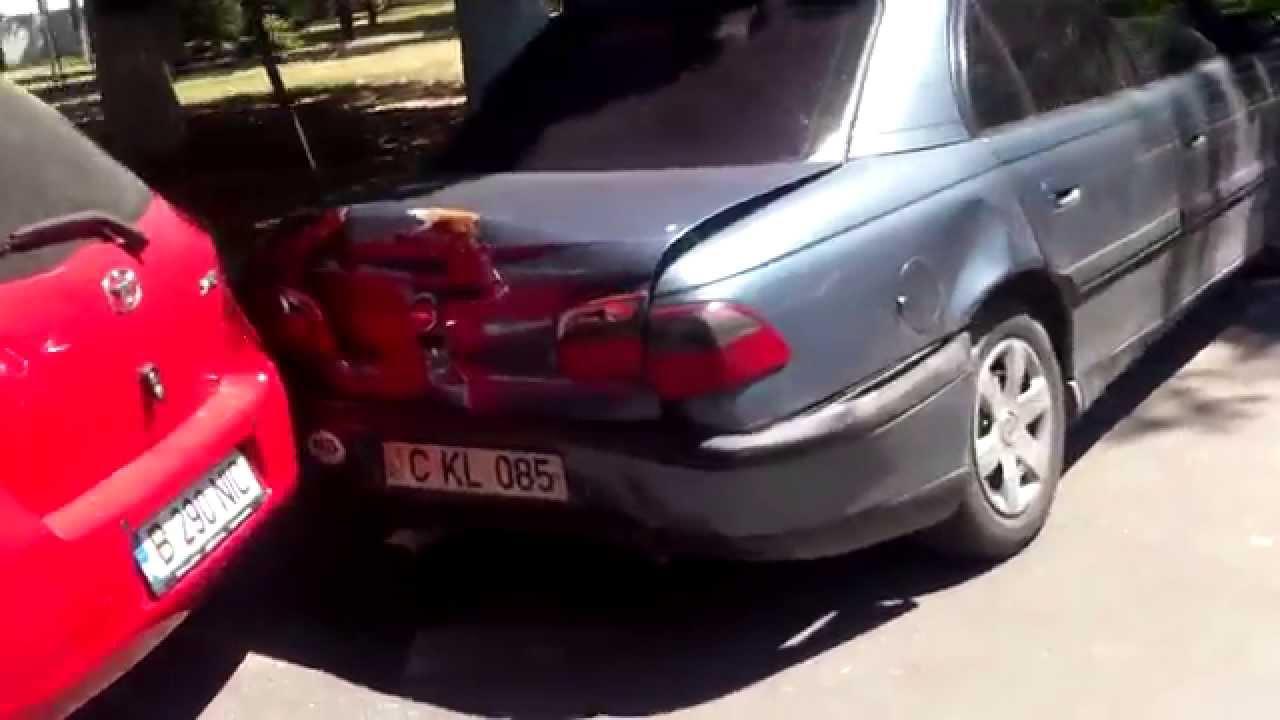 Accident în fața mașinii MAI, poliția a dispărut!