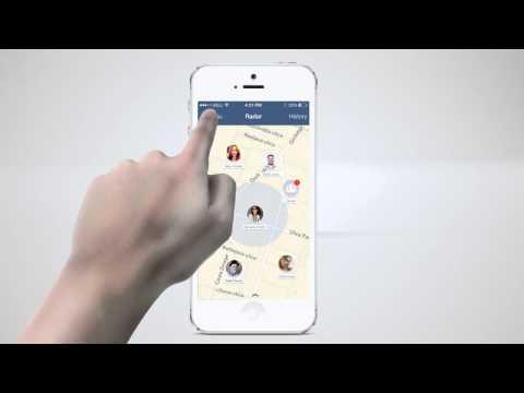 Radar for Facebook - iPhone App Promo Video (Advert)
