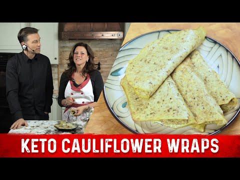 Amazing Cauliflower Wraps