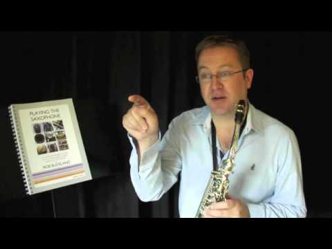 Rob Buckland – PLAYING THE SAXOPHONE – Video Tutorial on Vibrato