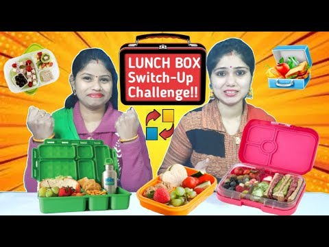 LUNCH Box SWITCH UP Challenge | #school life | Funny Food Challenge