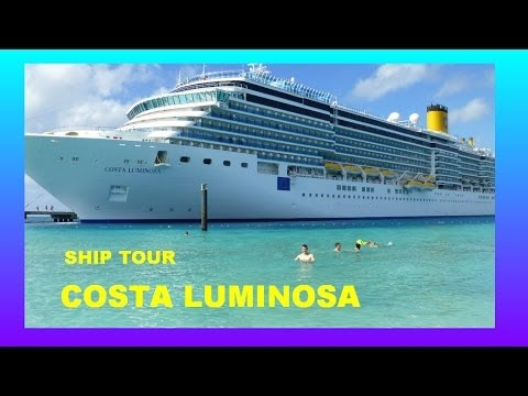 COSTA LUMINOSA  TOP CRUISE SHIP TOUR AND REVIEW