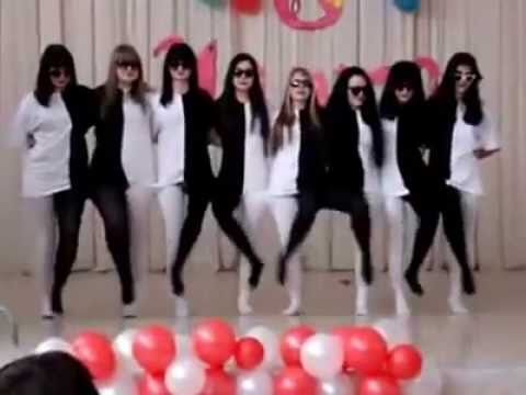 Black and White Tights Dance  (with