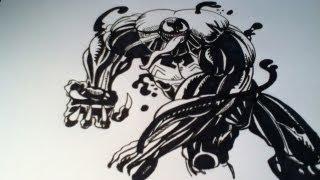 Drawing Ultimate Venom