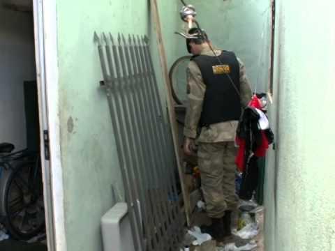 Droga é apreendida na casa de suspeito de homicídio no Canaã