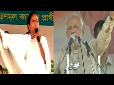 Nasty War of Words TMC v/s BJP