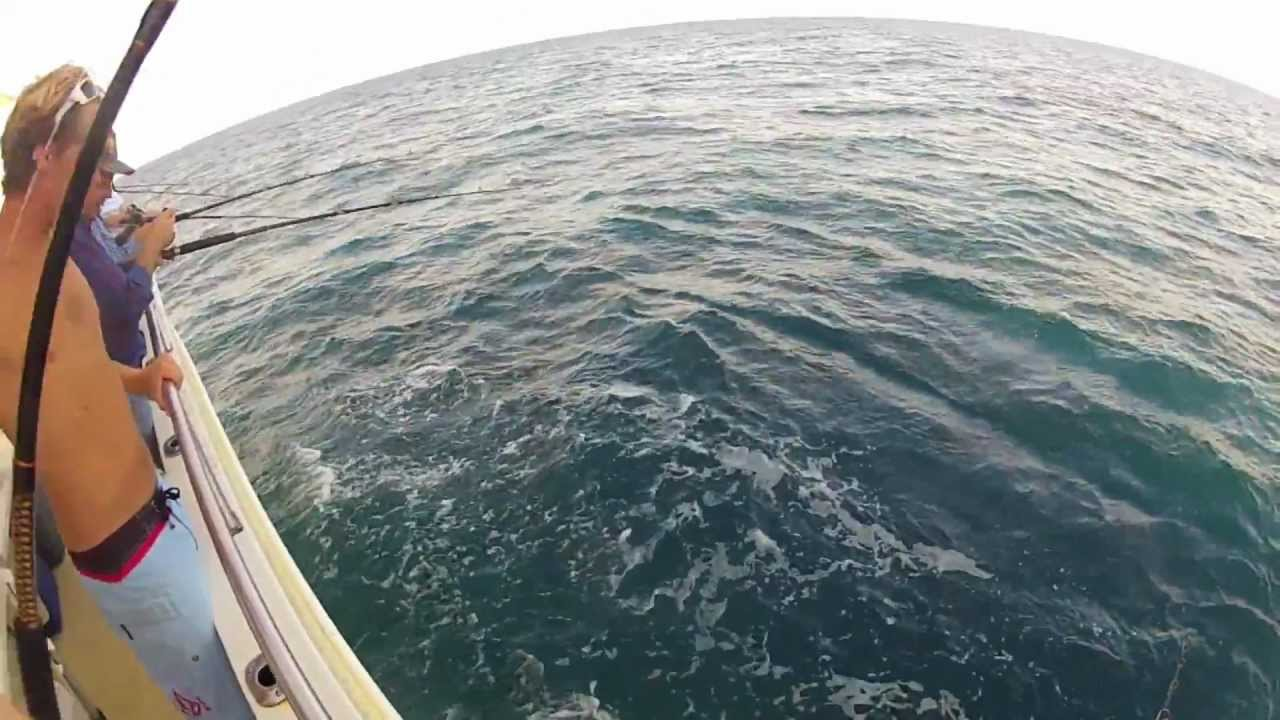 Offshore bottom fishing on the majesty party boat in for Party boat fishing florida