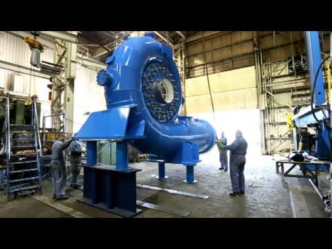The Fabrication and Assembly of an 8.5MW Francis Turbine at Ebco Industries