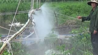 Tự chế máy phun thuốc trừ sâu, phun nước đỉnh nhất 2018.