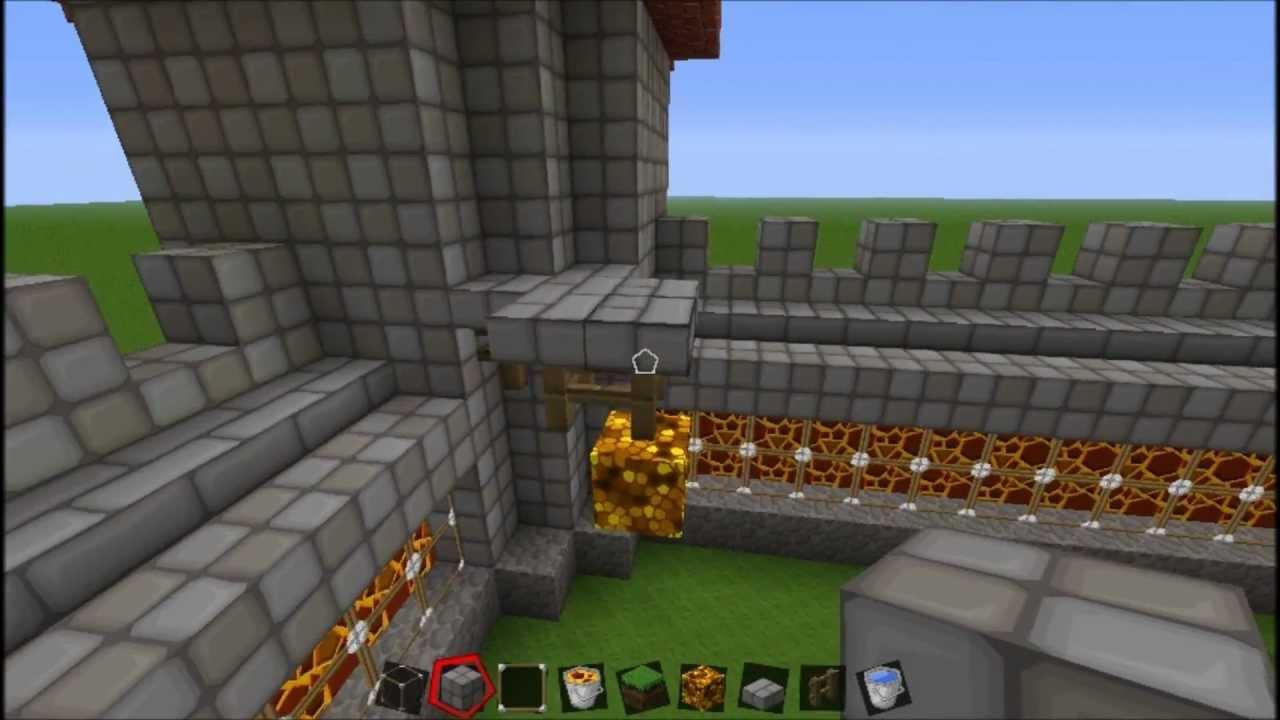 minecraft castle tutorial step by step