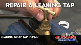 How to fix a leaking stopcock
