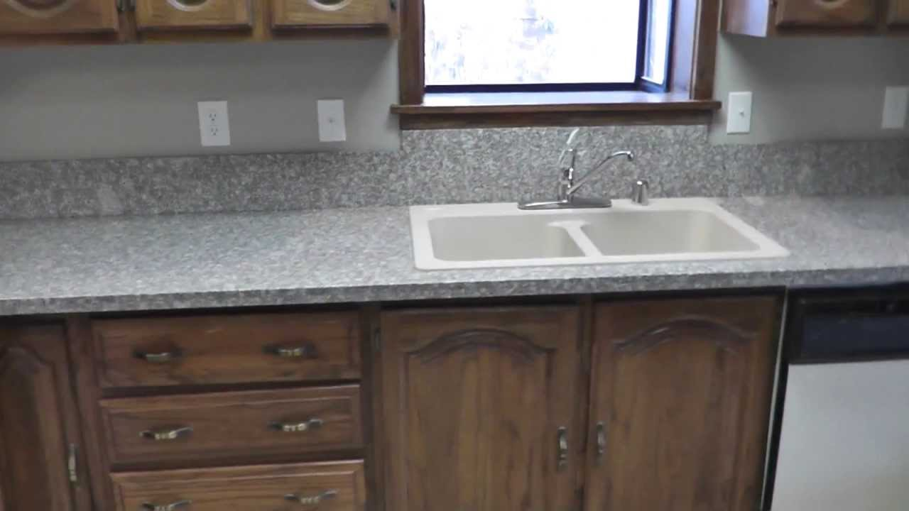 Granite Countertops Installed Cheap : How To Install Granite Countertops On A Budget Project Part 8 ...
