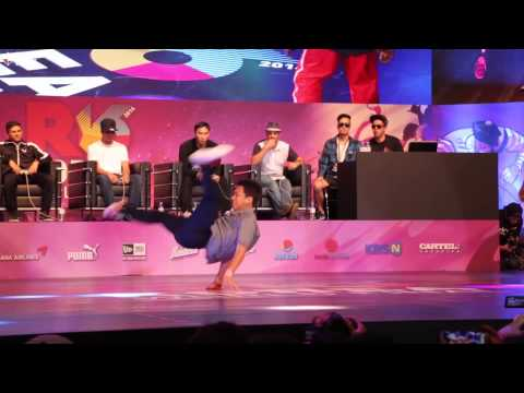 ISSEI v TATA / TOP16 / R16 2014 Final Bboy 1 on 1 / Allthatbreak.com