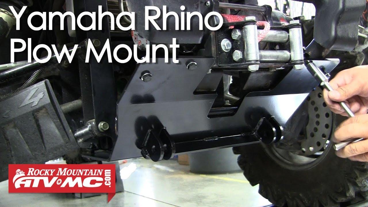 Yamaha Viking Snow Plow Mount