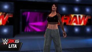 WWE 2K15 Community Showcase: Lita (Xbox 360)